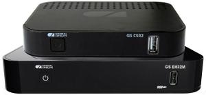 Ресиверы Триколор ТВ на 2 телевизора GS B534M и GS C592 Full HD